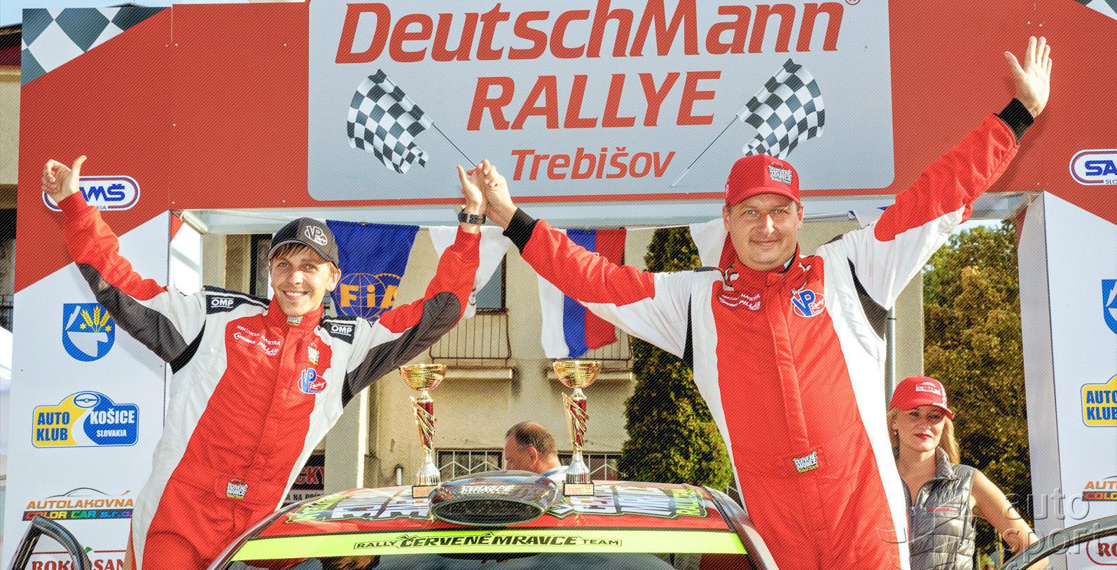 Fotogaléria DeutschMann® Rallye Trebišov